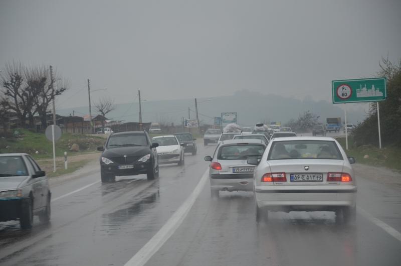 رانندگی در شرایط بد آب و هوایی