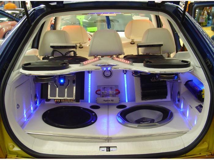 امنیت خودرو - سیستم صوتی